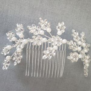 Silver head piece